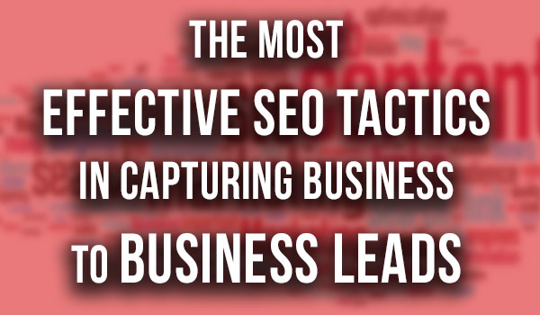 most-effective-seo-tactics-b2b-leads featured image