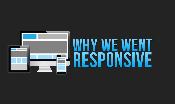 why we went with a responsive website design